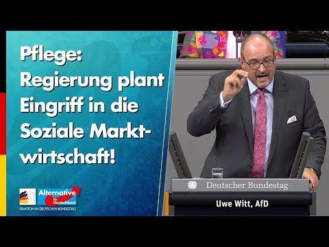 Regierung plant Eingriff in die Soziale Marktwirtschaft! - Uwe Witt - AfD-Fraktion im Bundestag