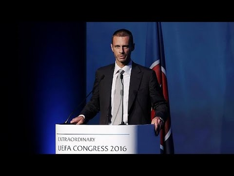 Football: Slovenian Aleksander Ceferin elected new head of UEFA