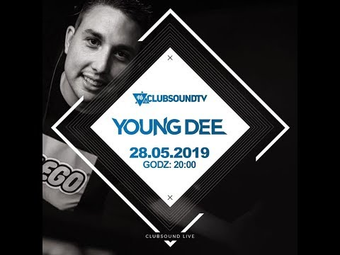 Young Dee Live  ! Clubsound TV ! 100 % Vinyl Set !