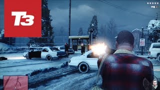 GTA V gameplay mission 1: First 15 minutes hands-on