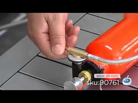 MVP Series BRS-8 Multi-Functional Oil/Gas Stove -- DX.COM
