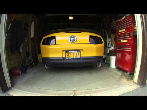 2011 Mustang GT, AR headers, Solo-Performance prototype catback