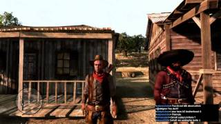 red dead redemption epic funny gameplay with cel and daz on ps3 hd 720p long