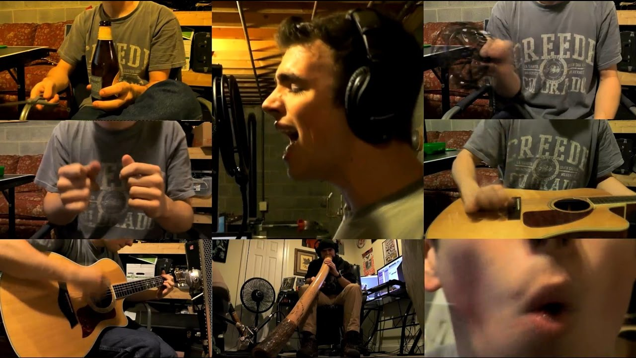 Chandelier - Sia with DIDGERIDOO!! (Colby Bennett acoustic cover ...