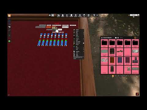 Quick Demonstration of Scene System V2 for Tabletop Simulator (with Audio) |