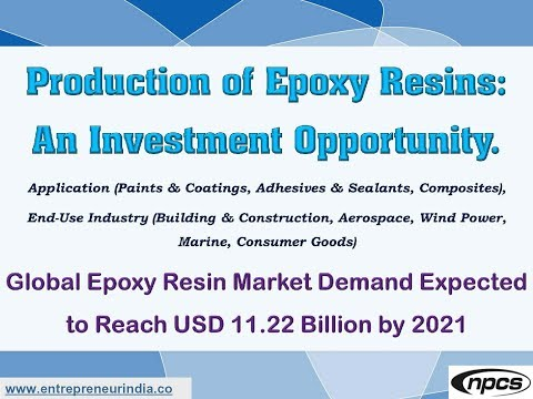 Production of Epoxy Resins: An Investment Opportunity.