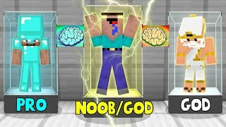 Minecraft NOOB vs PRO vs GOD :TRANSFORMATION OF NOOB TO GOD in Minecraft | Animation