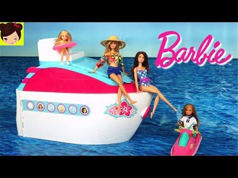 Barbie Vacaciones En Crucero Con Ken Y Sus Hermanas Los Juguetes