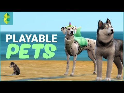 PLAYABLE PETS MOD | The Sims 4 Cats & Dogs