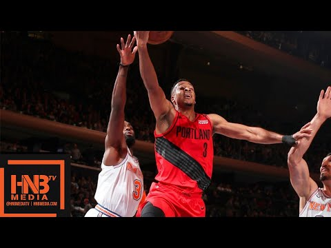 New York Knicks vs Portland Trail Blazers Full Game Highlights | 11.20.2018, NBA Season