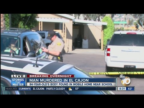 Man murdered in El Cajon