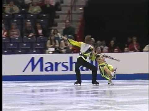 Lindsay Cohen and Evan Roberts 2007 U.S. Nationals - Spokane, Washington