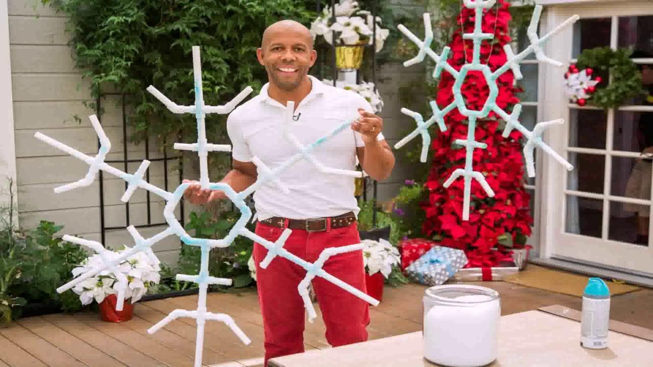 Diy Outdoor Snowflake Decorations Gif Maker - DaddyGif.com ...