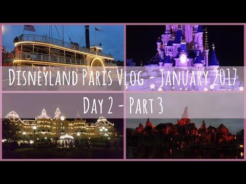 Disneyland Paris Vlog | January 2017 | Day 2 - Part 3