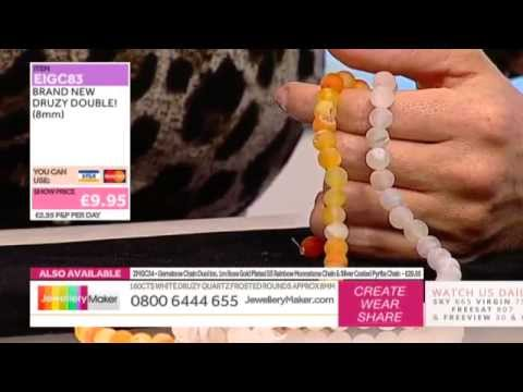 How to Make Beaded Jewellery: JewelleryMaker LIVE 16/10/2014