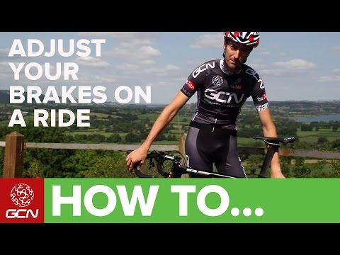 How To Adjust Your Brakes On A Ride - Roadside Maintenance