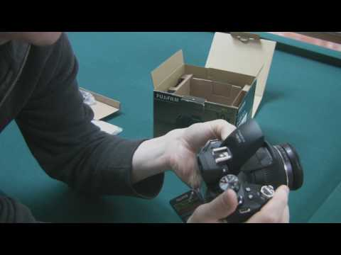 Fujifilm FinePix HS10 Unboxing and Quick Preview