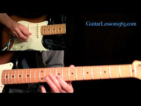 All Along The Watchtower Guitar Lesson Pt2  Jimi Hendrix  Verse