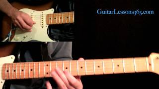 All Along The Watchtower Guitar Lesson Pt.2 - Jimi Hendrix - Verse