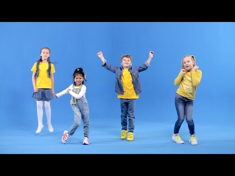 Körperteil Blues (Offizielles Tanzvideo) - Lichterkinder | Kinderlieder | Bewegungslieder