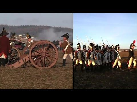 Watch | Over 1,000 re-enact Napoleonic war in Czech Republic