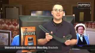 Huppins How-to Install Soundbar Brackets