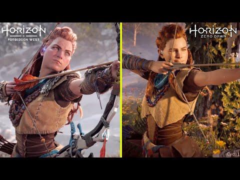 Horizon Zero Dawn vs Horizon Forbidden West – PS4 Pro vs PS5 Early Graphics Comparison