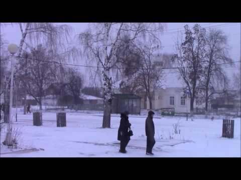 Снегопад в Красной Поляне Вятскополянский район