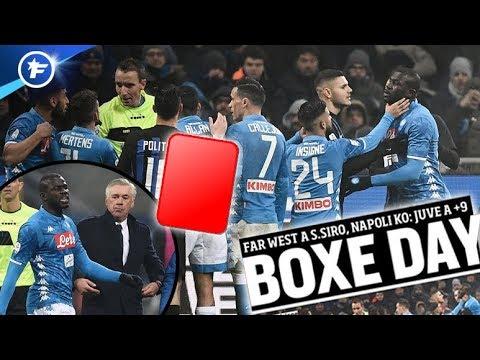 Le carton rouge de Kalidou Koulibaly fait jaser en Italie | Revue de presse