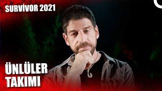 SURVİVOR 2021 ÜNLÜLER TAKIMI