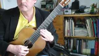 Vangelis- Conquest of paradise- Classical Guitar
