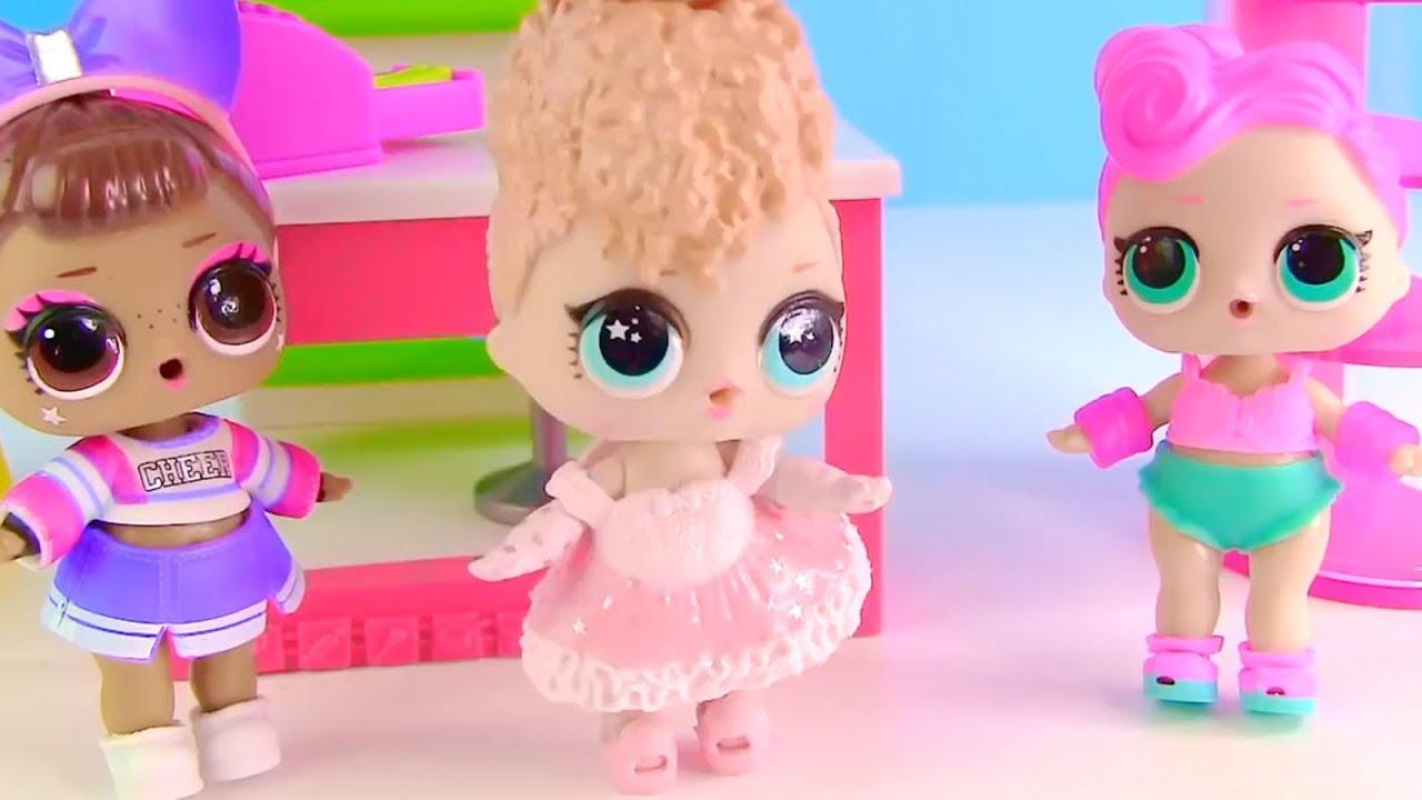 #Куклы Лол Мультик! Раскраска питомца и его нарядов Lol ...