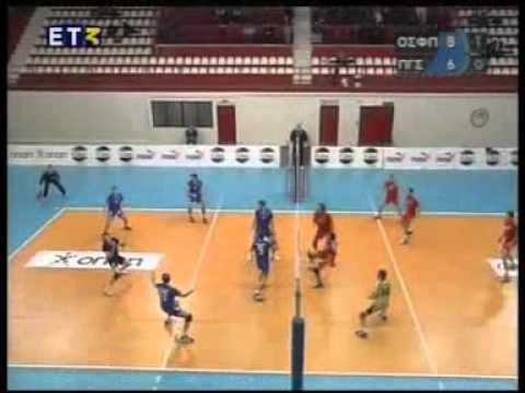 Olympiakos - Panellinios 12.01.2008, Greek Superleague, regular match