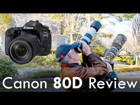 Canon 80D Review (vs 70D, 7D Mk II, Nikon D5500, Sony a6300)