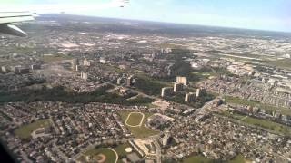 Landing in Toronto Pearson International Airport
