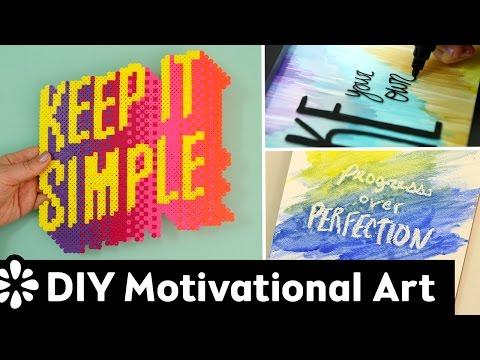 DIY Motivational Wall Art & Room Decor   Sea Lemon
