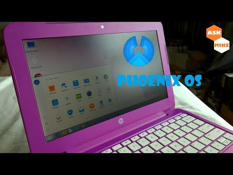 HP Stream 11 Install Phoenix OS Android 7.1.1 Nougat