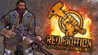 RED FACTION GUERRILLA: FUNNY MOMENTS | Hunting Dan (Gameplay Montage)