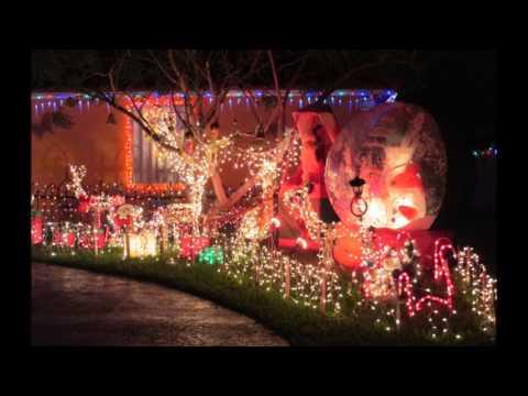 Christmas Lights Display - West Palm Beach, Fla.  2013