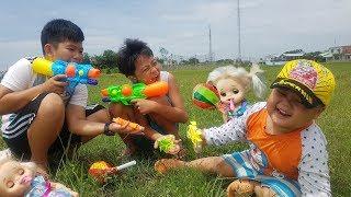 Trò Chơi Bé Chơi Búp Bê Nhí Nhố ❤ ChiChi ToysReview TV ❤ Đồ Chơi Trẻ Em Baby Doll Kids Song
