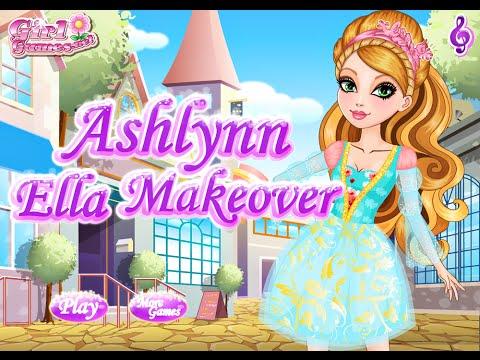 Ever After High Games Ashlynn Ella Makeover Fun Online Fashion Makeover Games For Girls Kids