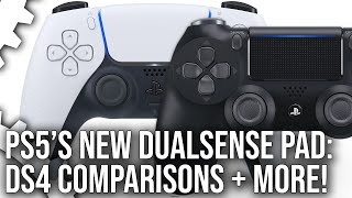 PlayStation 5 DualSense Joypad vs DualShock 4 + What New Info Have We Really Learned?
