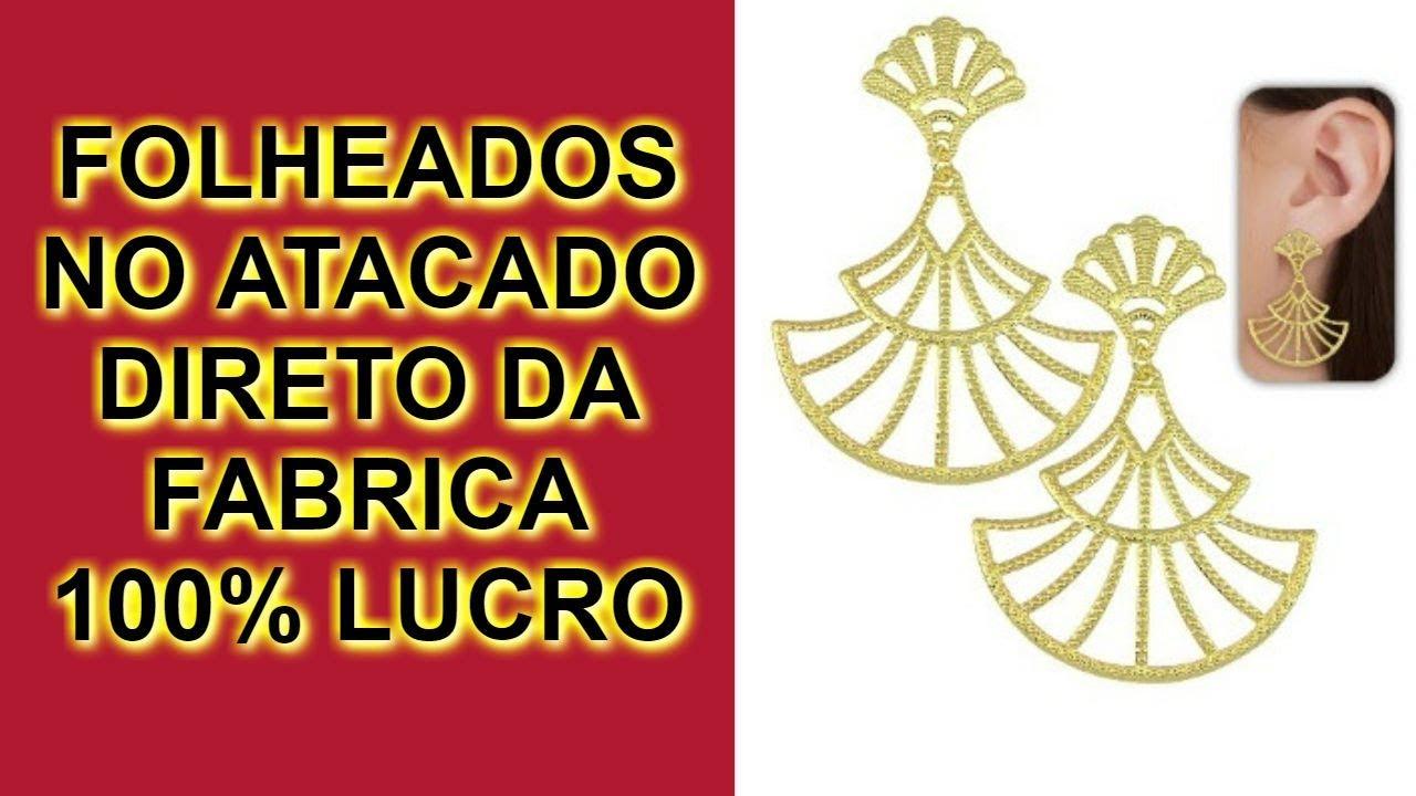 SEMI JOIAS PARA REVENDER DE ÓTIMA QUALIDADE FOLHEADOS DIRETO FABRICA LIMEIRA
