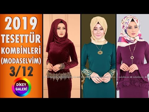 1bcf0e9244420 Tesettür Kombinleri 2019 - 3/12 | Modaselvim | #tesettur #kombin #elbise  #modanzi