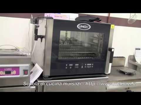 Scuola per cuochi: il forno a convezione / vapore - YouTube
