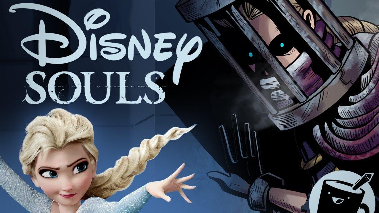 Artists Draw Disney Characters as Dark Souls Bosses