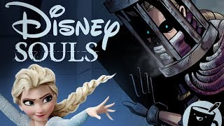 Artists Draw Disney Characters as Dark Souls Bosses