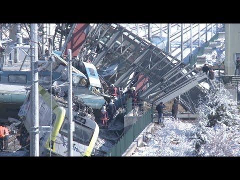9 Dead in High Speed Train Crash in Ankara