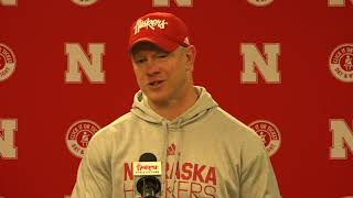 Scott Frost Iowa Post Game comments