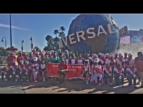 Nansemond River HS Marching Warriors Invade Universal Studios in Orlando, FL VLOGS